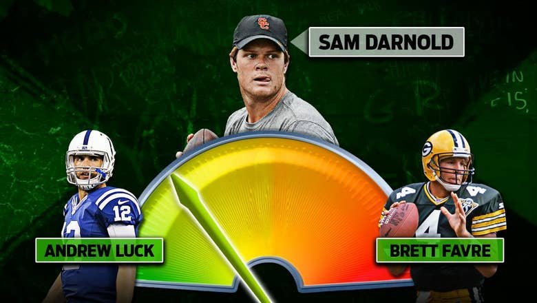 Colin Cowherd unveils the high and low comparables for the top NFL QB prospects