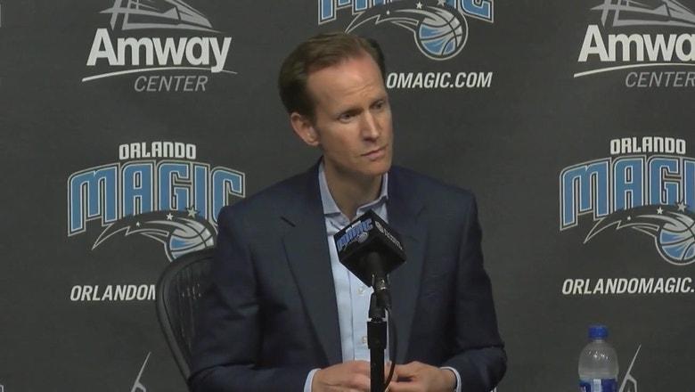 Jeff Weltman press conference (Part 1 of 3): On firing Frank Vogel, director of Magic