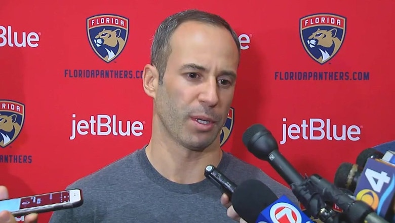 Florida Panthers exit interview: Derek MacKenzie calls Cats hungry and resilient
