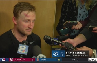 Steven Stamkos: We expected to bounce back