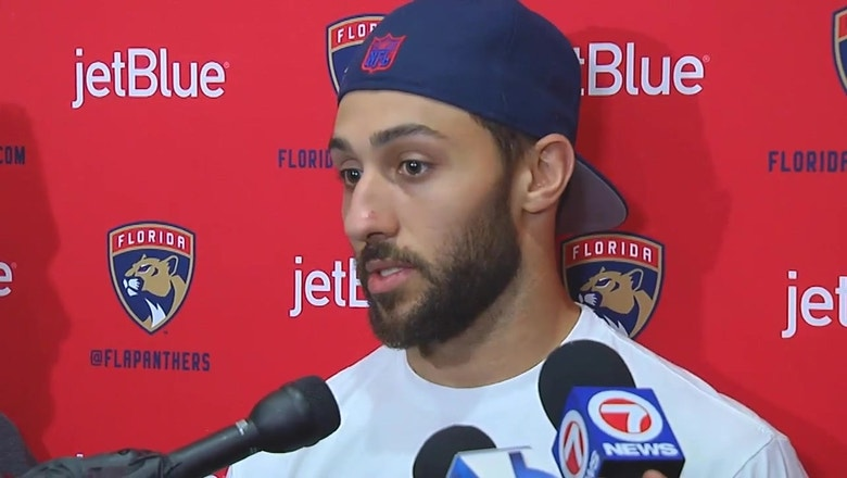 Florida Panthers exit interview: Vincent Trocheck on balancing disappointment, positives
