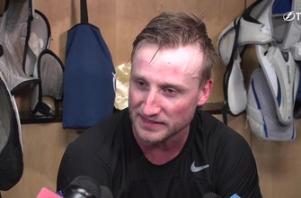 Steven Stamkos thrilled to get back on the ice