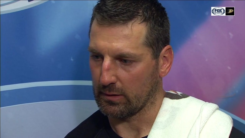 Francois Beauchemin reflects on 10 year career with Ducks