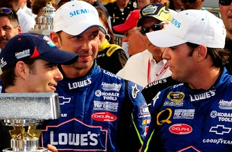 Chad Knaus would've liked to crew chief for Jeff Gordon & Mark Martin