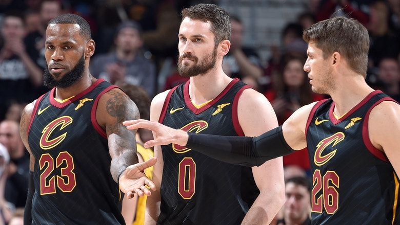 Nick Wright on why LeBron's epic, 46-point night in Cleveland's Game 2 win signifies greater Cavs issues