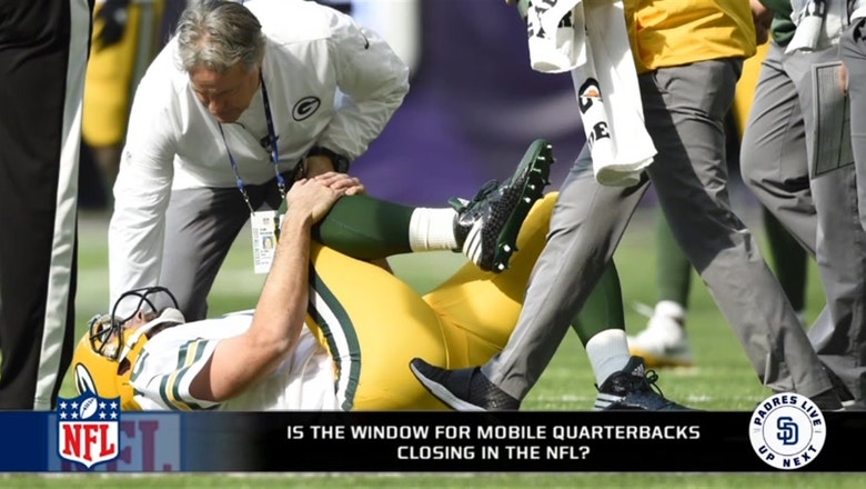 Is the era of mobile quarterbacks in the NFL closing?