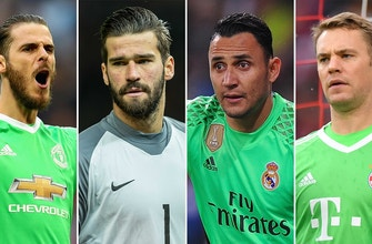 Tony Meola's goalkeepers to watch in Russia
