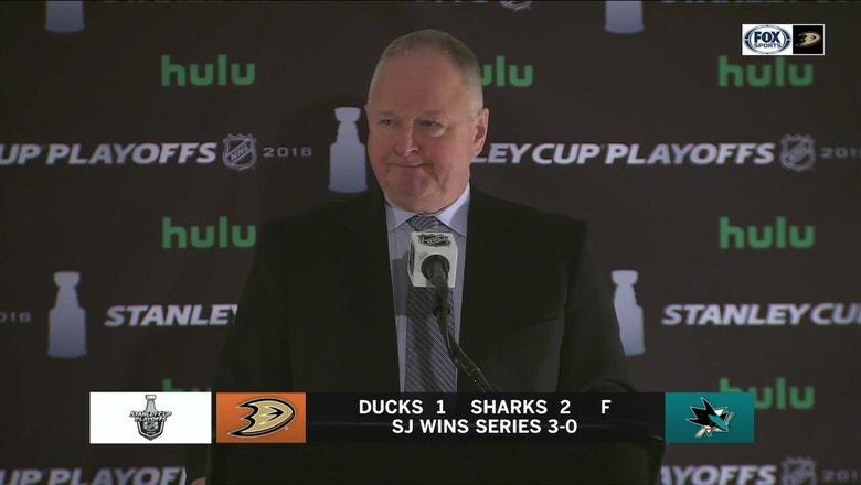 Recap: Sharks sweep Ducks, 4-0