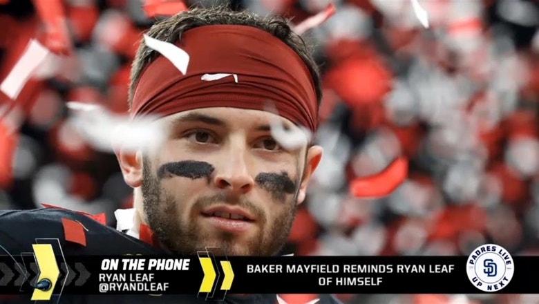 Ryan Leaf says Baker Mayfield reminds him of himself