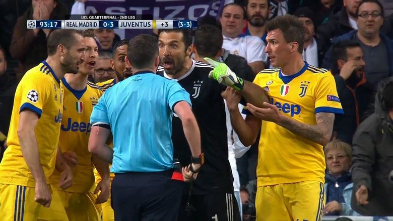 Gianluigi Buffon blasts ref over Real Madrid penalty call