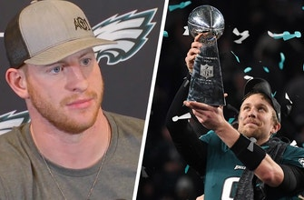 Is Carson Wentz jealous of Nick Foles' Super Bowl success?
