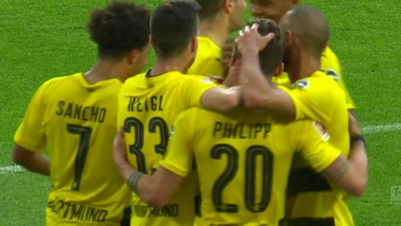 Borussia Dortmund vs. Bayer Leverkusen | 2017-18 Bundesliga Highlights