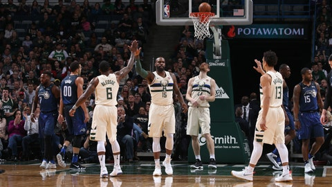 Bucks Hammer Magic, Move Into 6th Spot