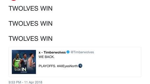 x - Timberwolves' #1 Fans (aka the Atlanta Hawks)