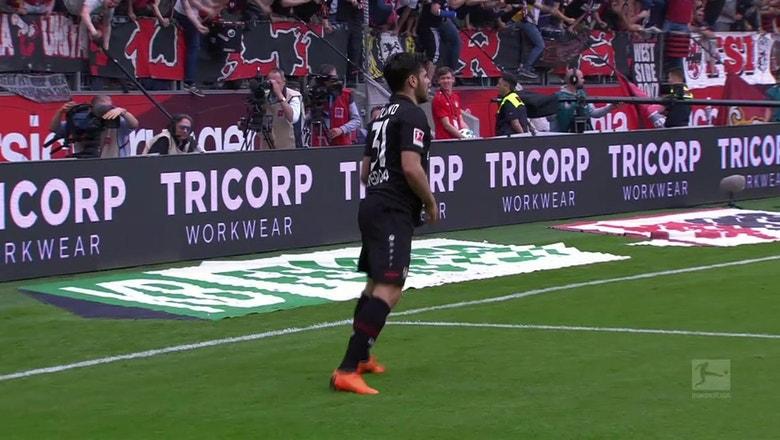 Bayer Leverkusen vs. Eintracht Frankfurt | 2017-18 Bundesliga Highlights