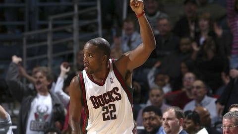 Nov. 11, 2006: Michael Redd scores 57