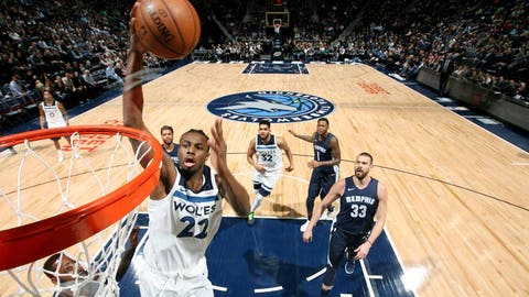 Timberwolves outlast Denver in overtime to clinch first playoffs spot since 2004
