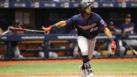 Surprise! Twins' Miguel Sano (rehabbing) joins Byron Buxton (activated) in Anaheim