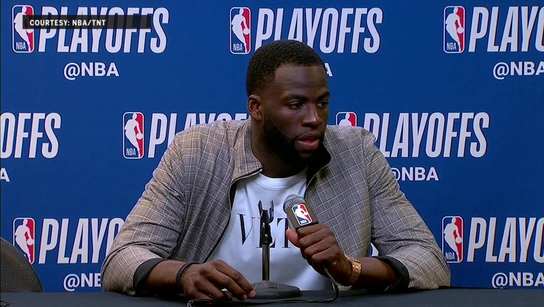 Draymond Green Press Conference – Game 3 | Warriors at Spurs