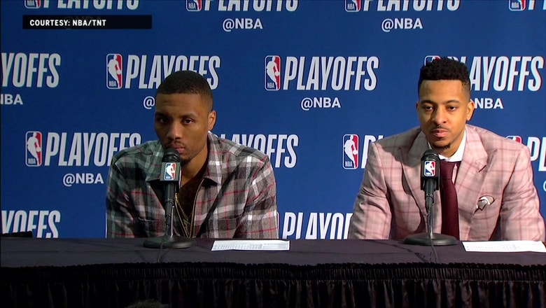 Damian Lillard and CJ McCollum Press Conference – Game 4  | Trail Blazers at Pelicans
