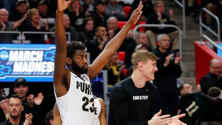 Boilermakers backup F Jacquil Taylor plans to transfer after earning degree