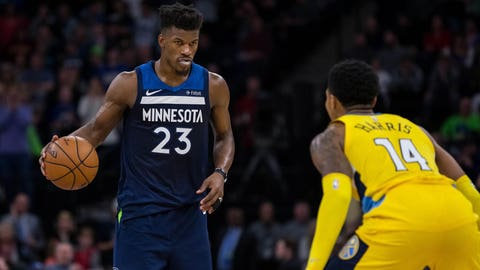 Jimmy Butler, Wolves shooting guard (↑ UP)