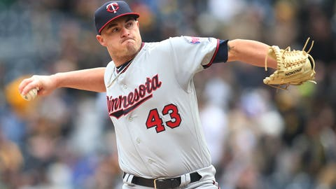Addison Reed, Twins reliever ↓