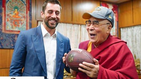 Dalai Lama (via Aaron Rodgers)