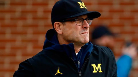 Jim Harbaugh Calls Elysee Mbem-Bosse's Threatening Tweets 'A Serious Matter'