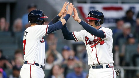 3. Back half of Braves lineup off to fast start
