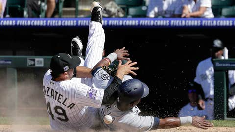 Padres score 9 runs in 7th inning, beat Rockies 13-5