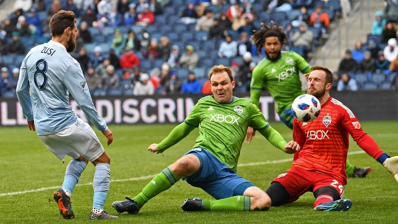 Zusi's goal in 78th minute lifts Sporting KC to 2-2 draw with Sounders