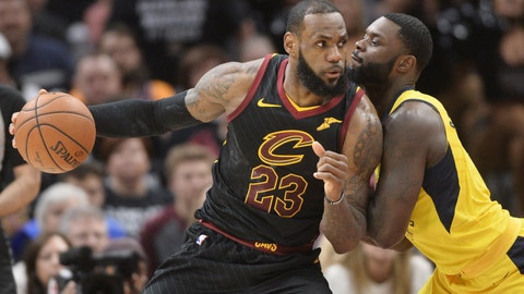 LeBron Becomes NBA's All-time Leader in Playoff Steals