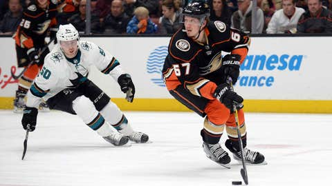 Sharks head home with two-game lead on Ducks