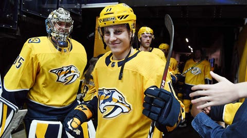 Nashville Predators (113 points)