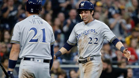 Brewers clobber Marlins, 12-3, as Miami's struggles continue