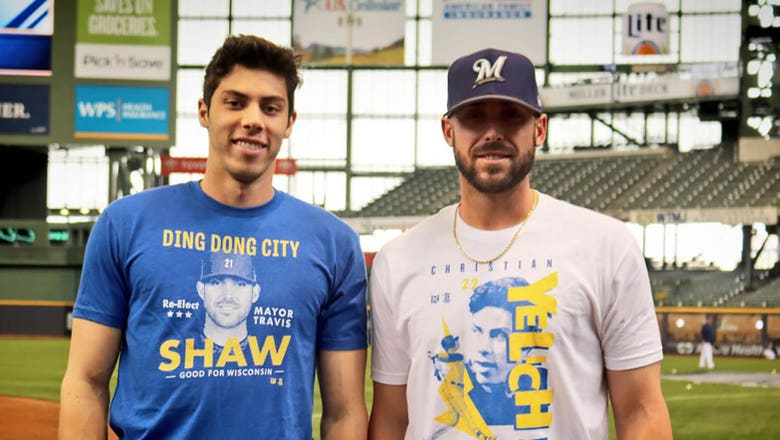 Top Tweets: Brewers' Yelich, Shaw just became best friends