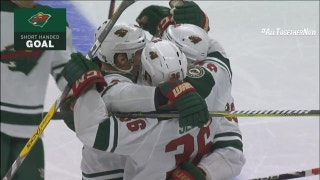 WATCH: Wild's Prosser scores shorthanded goal