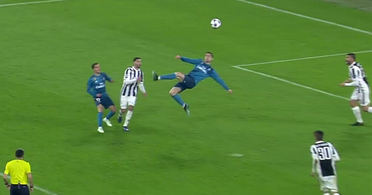 Cristiano Ronaldo Scores An Absolutely Incredible Must