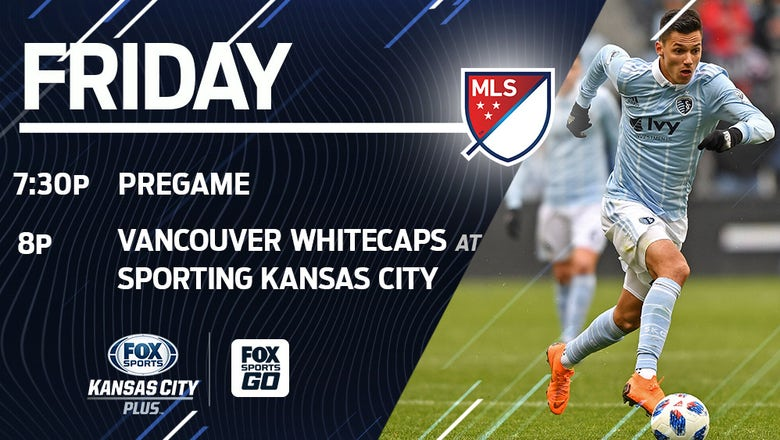 How to watch Friday's Sporting KC-Vancouver match on TV and streaming