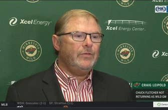 Wild owner Craig Leipold on not renewing Chuck Fletcher's contract as GM