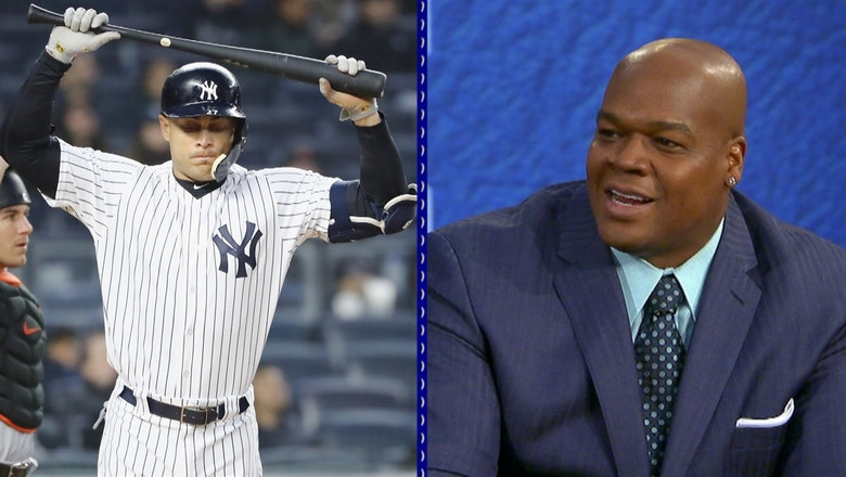 Frank Thomas on Yankees fans booing Stanton: 'Relax'
