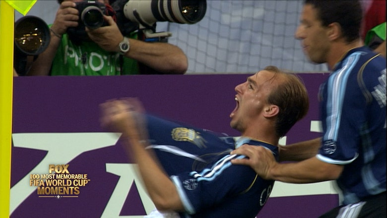 53rd Most Memorable FIFA World Cup Moment:  Argentina's Team Goal