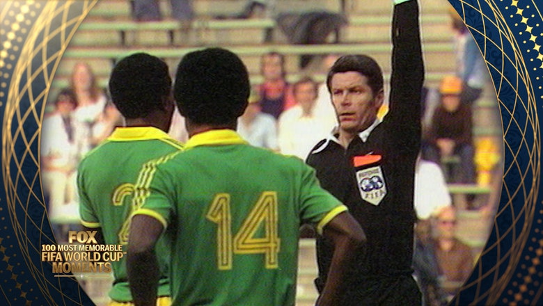 58th Most Memorable FIFA World Cup Moment: Zaire's Free Kick