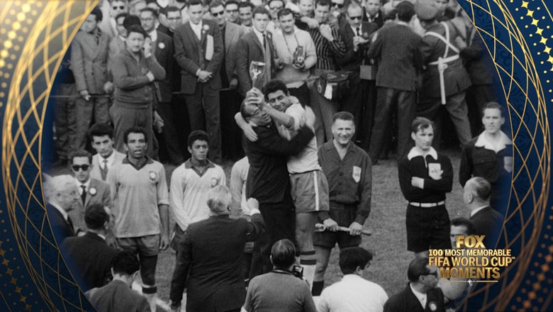 60th Most Memorable FIFA World Cup Moment: Garrincha Dominates