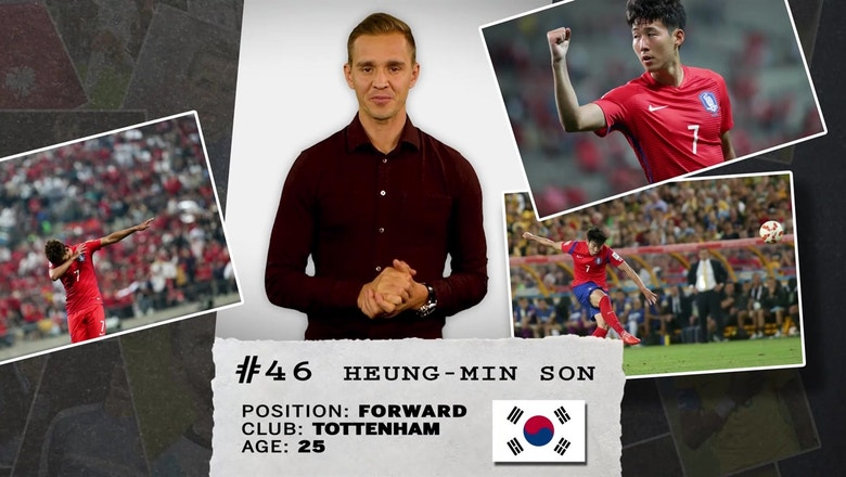 Stu Holden's 50 players to watch in Russia: #46 Heung-Min Son