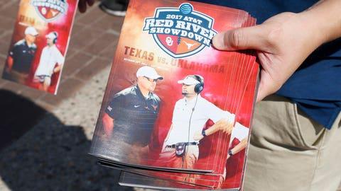 Week 6: Texas Longhorns vs. Oklahoma Sooners