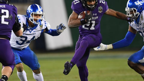 Round 7, No. 251 overall: Justin Jackson, RB