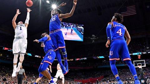 NCAA Basketball: Final Four-Villanova vs Kansas