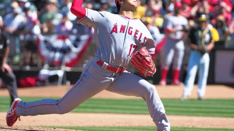Athletics at Angels: The probables